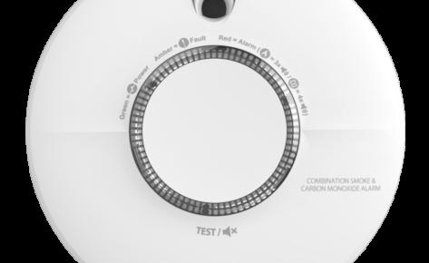 SCB10-AE-BNLR : détecteur de fumée & CO COMBI
