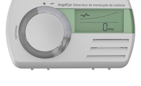CO-AE-9D-FR : détecteur de monoxyde MEMORY